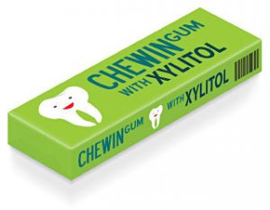 Chewing gum with xyliton