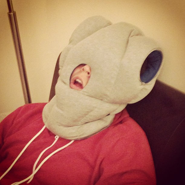 Ostrich Pillow Got an idea