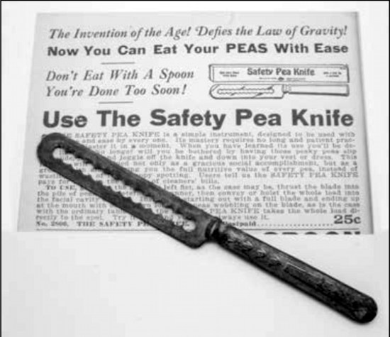 safety pea knife